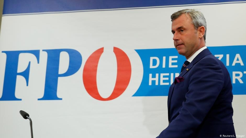 Head of Austria's Freedom Party (FPÖ), Norbert Hofer | Photo: Reuters/L.Foeger