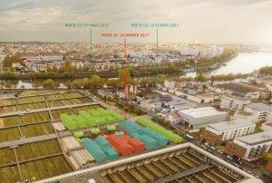 Àterme, le centre d'Ivry-sur-Seine accueillera temporairement 400 personnes.Atelier RITA