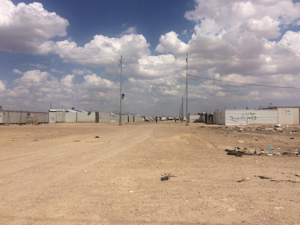 Richard Riffonneau/RFI |Irak: le camp désertique de Amriyat Al Falloujah, situé à 60 km au sud-ouest de Bagdad, accueille cinquante quatre mille familles déplacées.