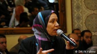 Zineb Daoudi Sozialarbeiterin (DW/N.Yakine)