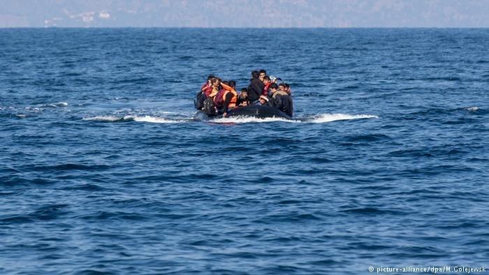 یک کشتی مهاجران در آبهای ترکیه. عکس از پیکچر الیانس