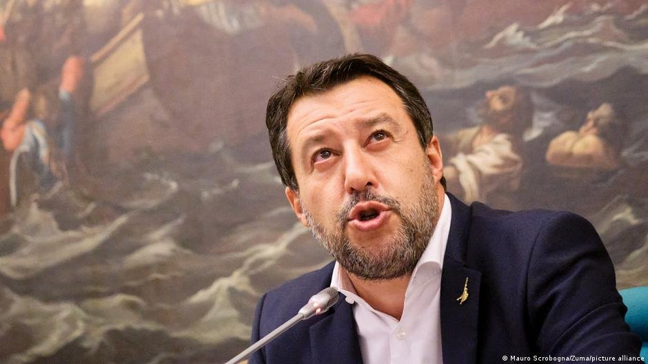 Matteo Salvini is on trial for alleged deprivation of liberty and abuse of authority | Photo: Mauro Scrobogna/Zuma/picture-alliance