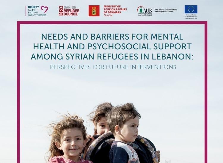 Ansa / غلاف التقرير الذي أصدرته منظمتا ديجنيتي ومجلس اللاحئين الدنماركي حول اللاجئين السوريين في لبنان. المصدر: مجلس اللاجئين الدنماركي.