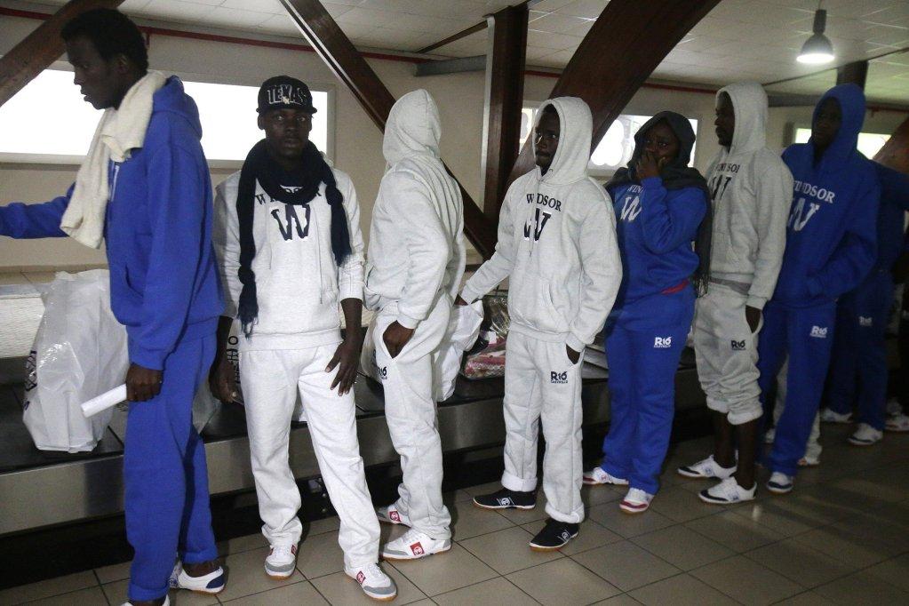 Ivorian migrants returning from Libya arrive in Abidjan, Ivory Coast, 22 November 2017. 166 Ivorian migrants were repatriated from Libya by Ivory Coast. Photo | EPA/LEGNAN KOULA