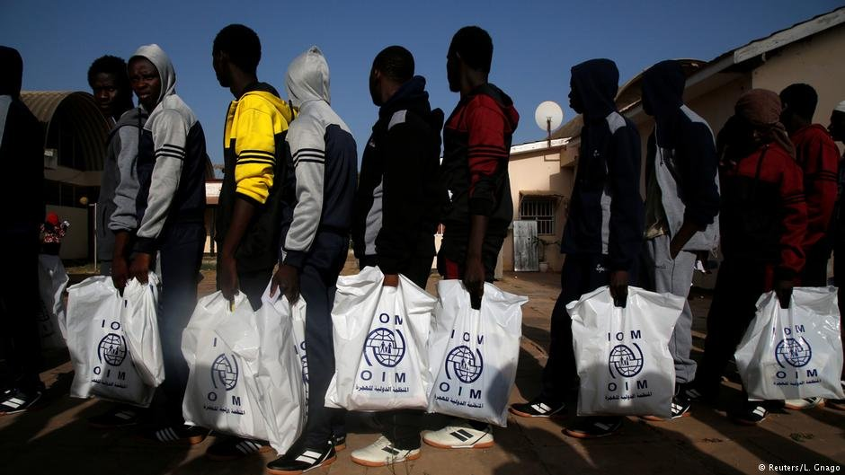 From file: Gambian refugees returning voluntarily from Libya