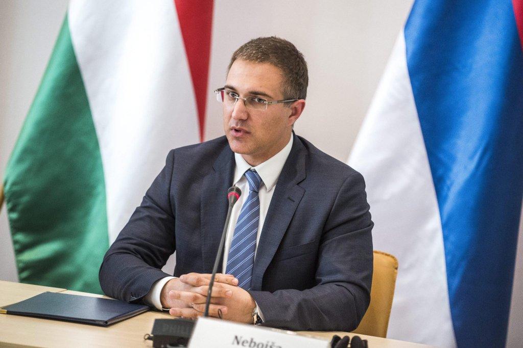 Interior Minister of Serbia Nebojsa Stefanovic | PHOTO/ARCHIVE/EPA/JANOS MARJAI