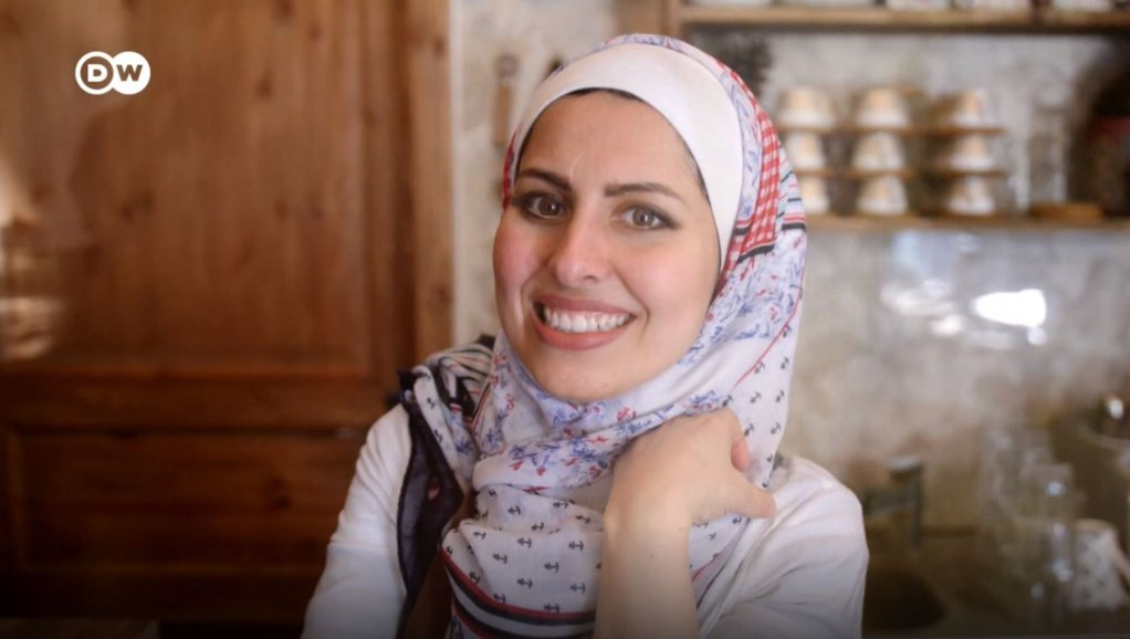 Syrian refugee Malakeh Jazmati is running a restaurant in Germany