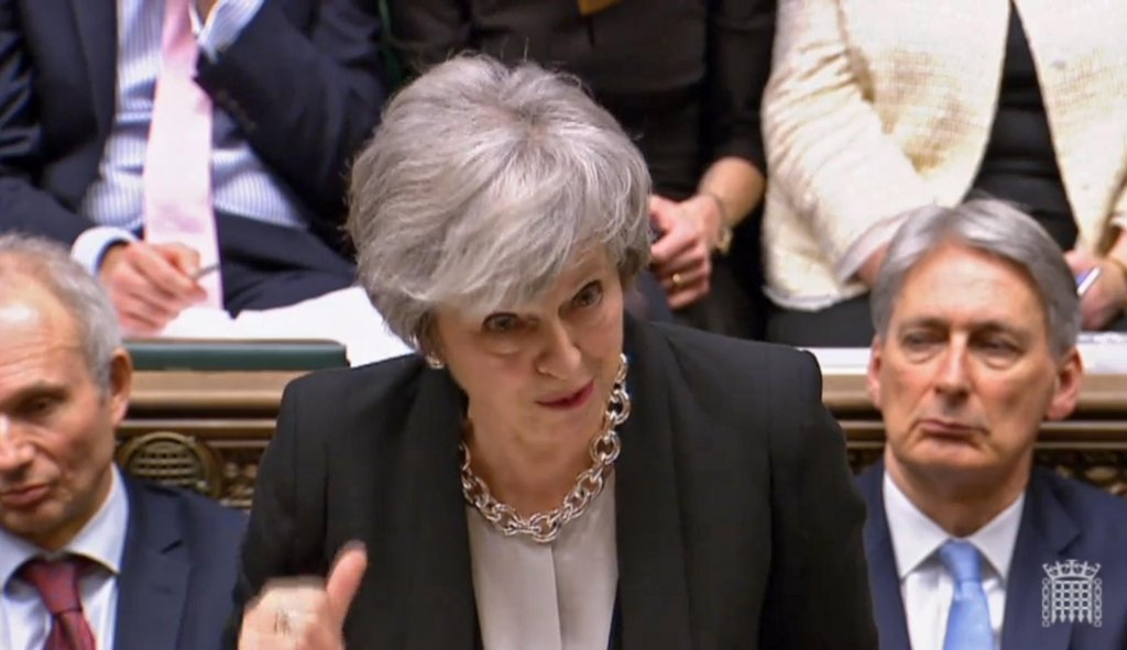 ANSA / رئيسة الوزراء البريطانية تريزا ماي، حقوق الصورة / ANSA