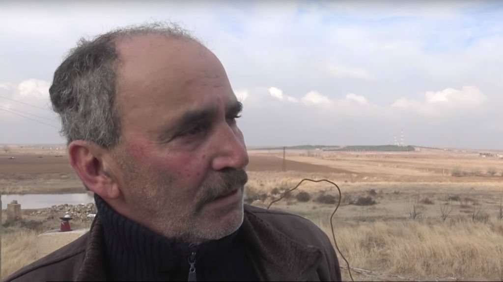 Marokel a quitté la Syrie avec sa famille mais il a choisi de revenir seul dans son village, détruit par l'État islamique en 2015. Crédit : France 24