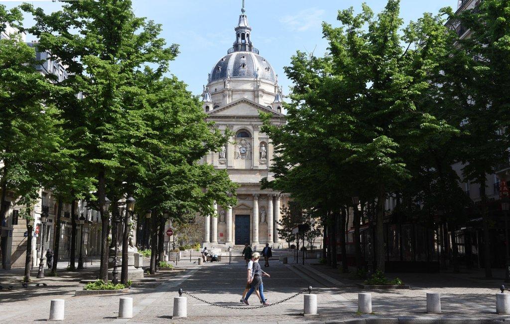 Université de La Sorbonne à Paris. Crédit : AFP