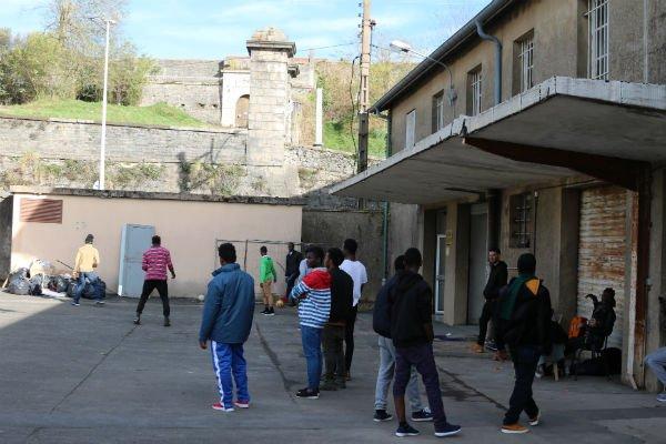 Le centre d'hébergement Pausa, à Bayonne. Image d'illustration. Crédit : InfoMigrants