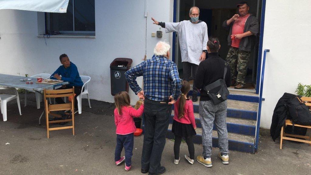 David Baché/RFI |Le centre d'accueil d'Hendaye a été créé de toutes pièces pour la période de confinement.