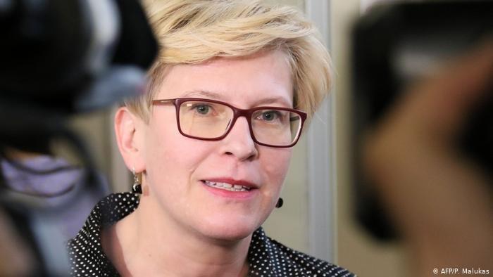 اینگریدا شیمونته، نخست وزیر لیتوانیا