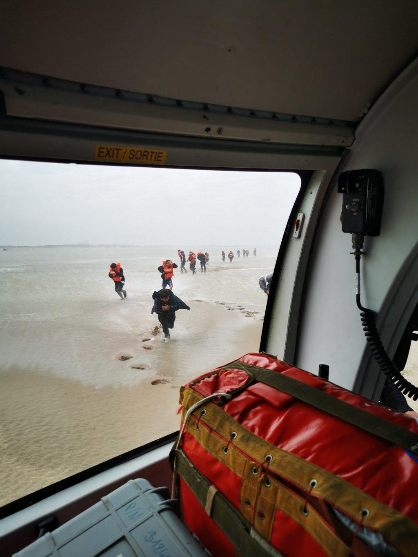 ۱۲۳ مهاجر در نزدیک ساحل پادو کاله توسط نیروهای دریایی شمال فرانسه نجات یافتند. جولای ۲۰۲۱