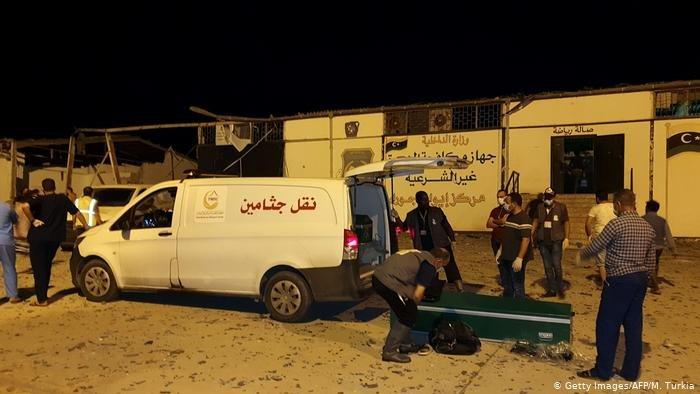 شهادات ناجين من قصف مخيم تاجوراء