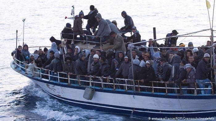 picture-alliance/ROPI/Cremaschi/Insidefoto |محاولات الهجرة غير النظامية من تونس بلغت الصيف الماضي مستوى غير مسبوق منذ عام 2011، حين اندلاع الثورة التونسية.