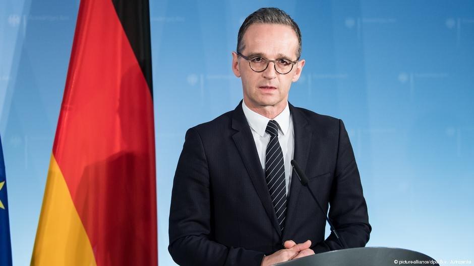 وزير الخارجية الألماني هايكو ماس يطالب بدعم المدنيين الذين يعانون من الصراع المسلح في سوريا بسخاء وتأمين المساعدات الإنسانية لهم داخل البلاد وفي البلدان المجاورة التي نزحوا إليها