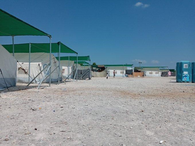 له ارشیف څخه. مالاسکا کمپ د اټن په شمال کې موقعیت لري. کرېډېت: دي ار