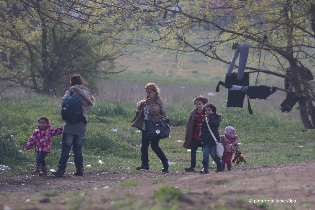 الحدود الجنوبية المشتركة بين صربيا والمجر. الصورة: picture-alliance/A. Volgyi