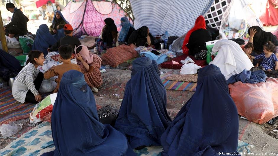 Large numbers of Afghans have fled the approaching Taliban | Photo: Picture-alliance