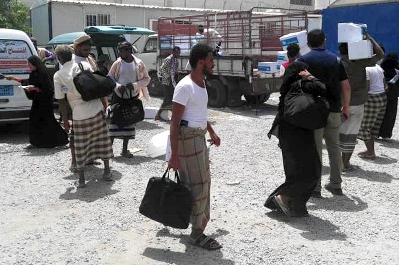 Migrants stranded in Hodeida are forced to wait for the resumption of IOM's return assistance Photo: IOM