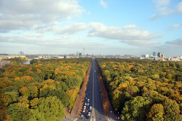 Le parc du Tiergarten (Copyright : Creative Commons)