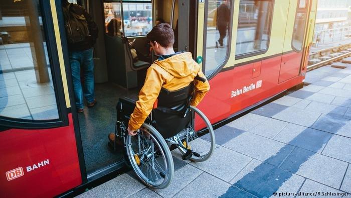 يتمتع ذوو الاحتياجات الخاصة في ألمانيا بتسهيلات عديدة