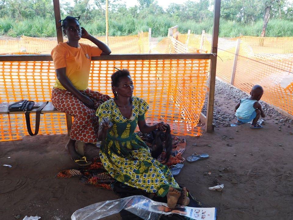 RFI/Daniel Frederico |Réfugiés de RDC en Angola, ici en mai 2017 (photo d'illustration).