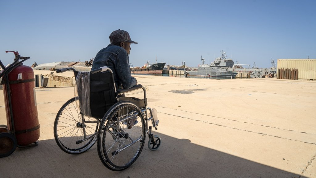 عکس از آرشیف/ یک حقوق دان آلمانی میگوید که رسیدگی جامع برای پناهجویان دارای معلولیت صورت نمیگیرد