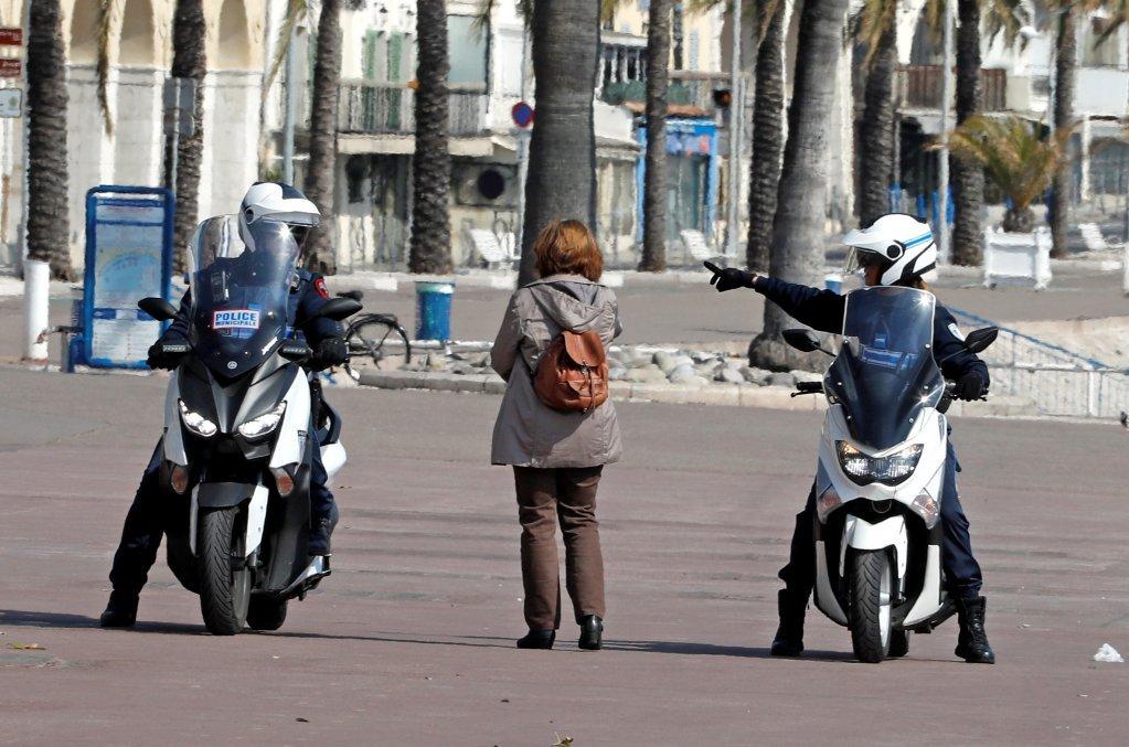 نیس ښار، فرانسه. کرېډېټ: رویترز