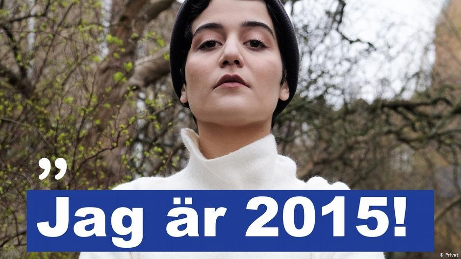 Atoosa Farahmand, who started the social media campaign Jag är 2015 | Photo: Private