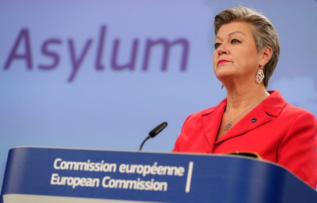 La commissaire européenne aux Affaires intérieures, Ylva Johansson, à Bruxelles le 23 septembre 2020. Crédit : Reuters