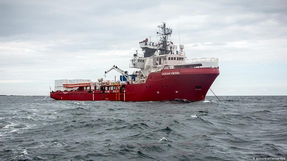 The Ocean Viking can hold a maximum of 100 rescued migrants | Photo: picture-alliance/dpa