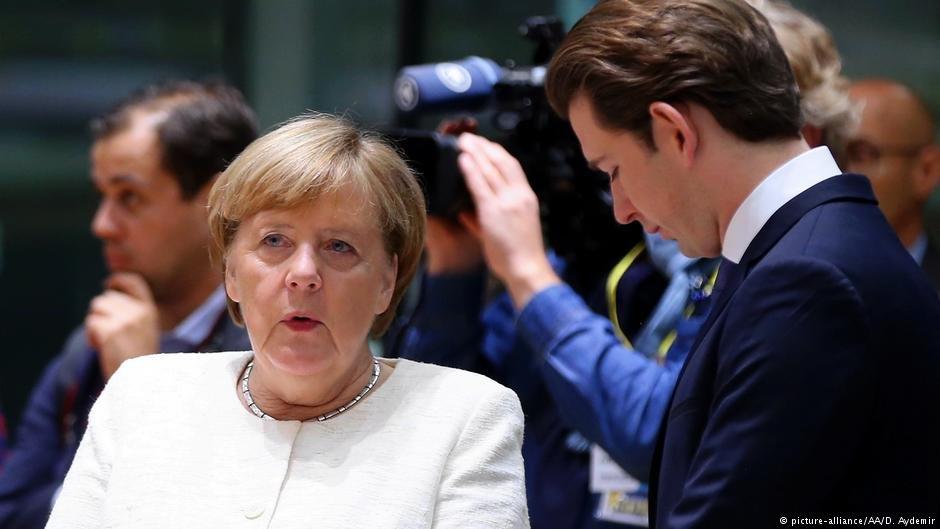 نشست سران اتحادیه اروپا؛ دیدگاه متفاوت صدر اعظم های آلمان و اتریش
