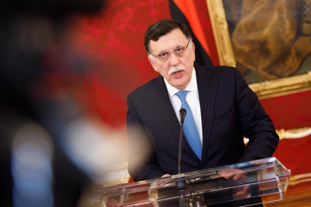In the photo, Libyan Prime Minister Fayez al-Sarraj. PHOTO/ARCHIVE/EPA/FLORIAN WIESER