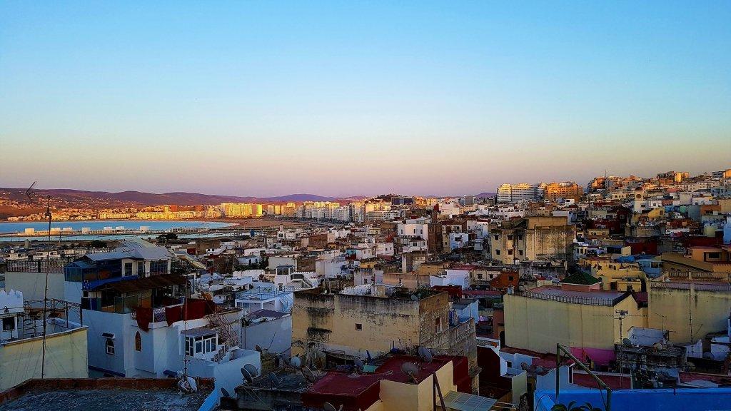 صورة لمدينة طنجة في المغرب. المصدر: Domaine public
