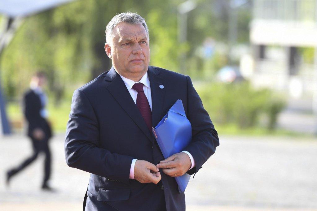 """أنسا/فيكتور أوربان رئيس الوزراء المجرى. المصدر: """"إي بي إيه""""/ فاسيل دونيف."""