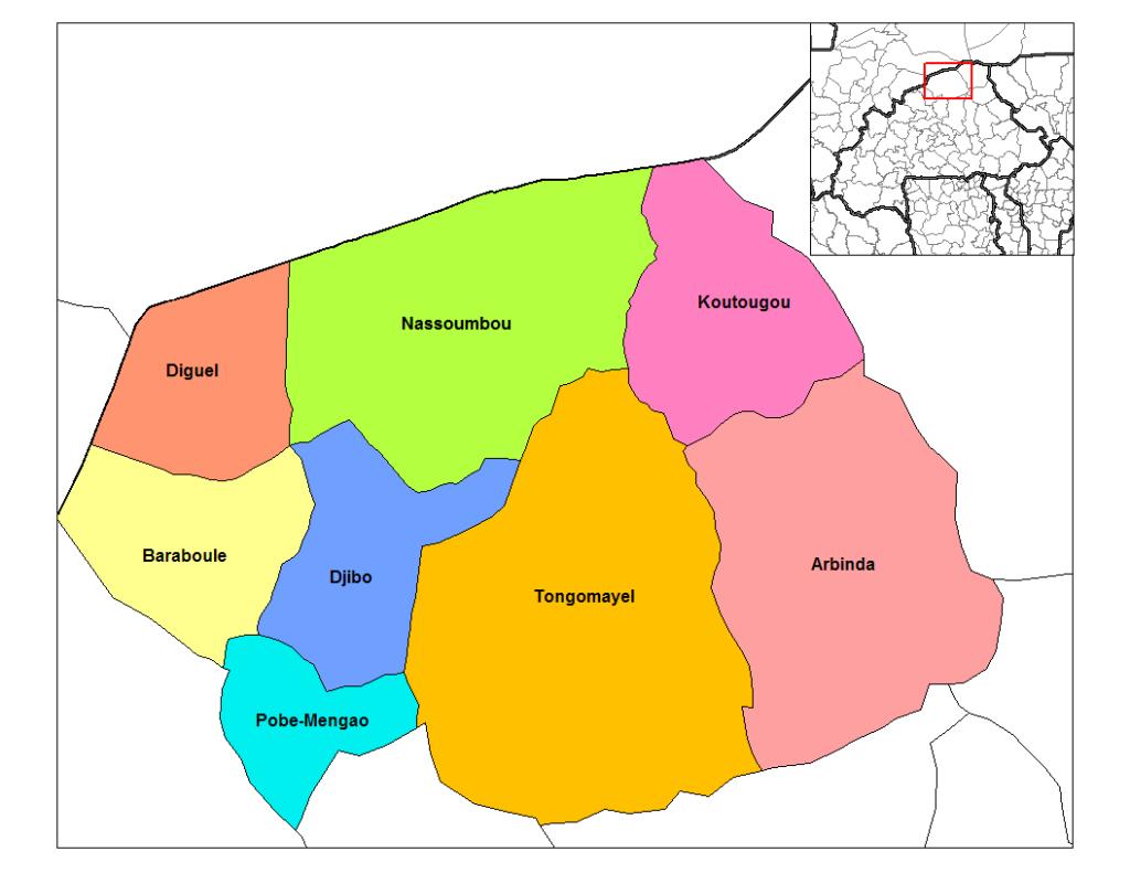 Wikimedia Commons |Le département du Soum, dans le nord du Burkina Faso, a été le théâtre d'attaques terroristes ces derniers mois.