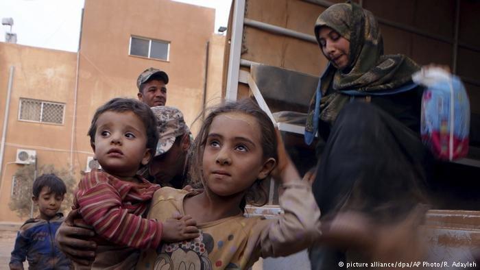 أطفال سوريون لاجئون في الأردن