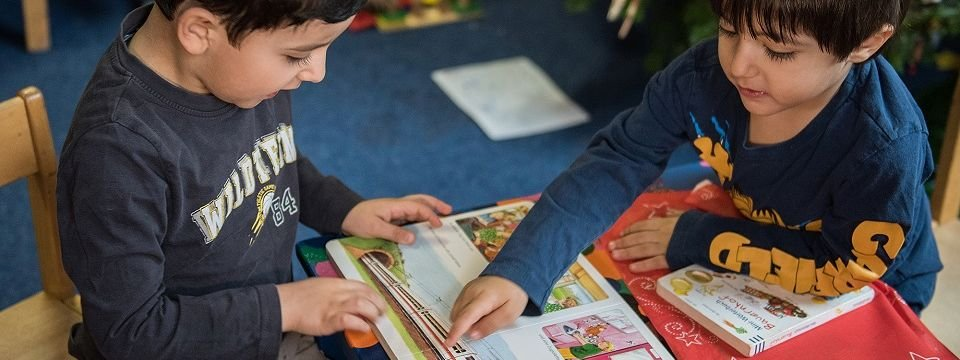 Early literacy is considered important for integration © BMBF/Stiftung Lesen/Hans Joachim Rickel