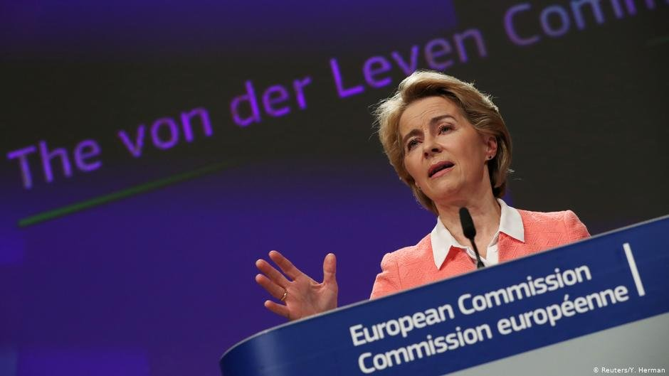 Ursula von der Leyen speaks at the European Commission and announces her new team | Photo: Reuters / Y. Herman