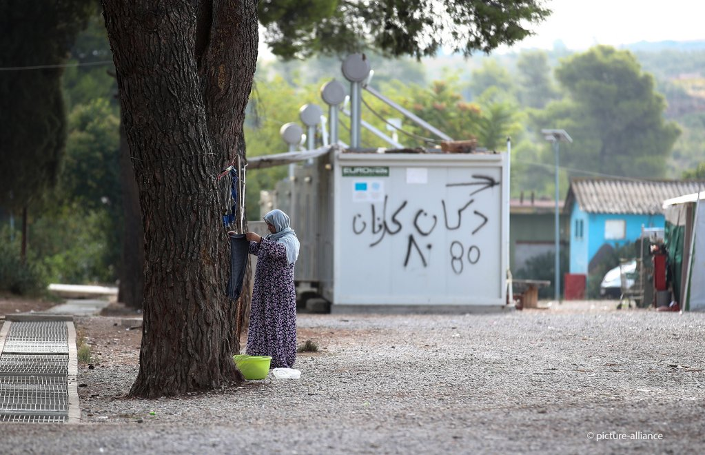 Conditions in the Ritsona migrant camp are better than those in camps on the Greek islands. File from October 10, 2019 | Photo: V. Sharifulin/dpa/picture-alliance
