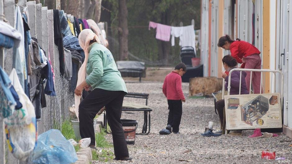 کمپ مهاجران در بلغاریا