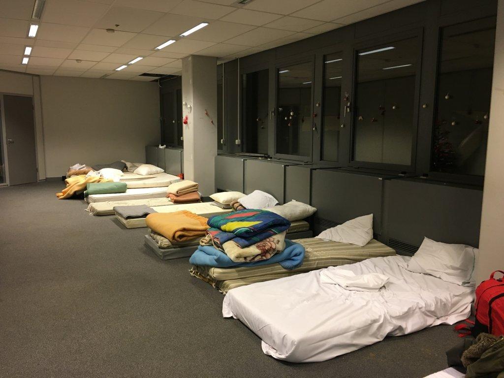 مرکز پذیرایی مهاجران در بلژیک. عکس از آرشیف/ مهاجر نیوز