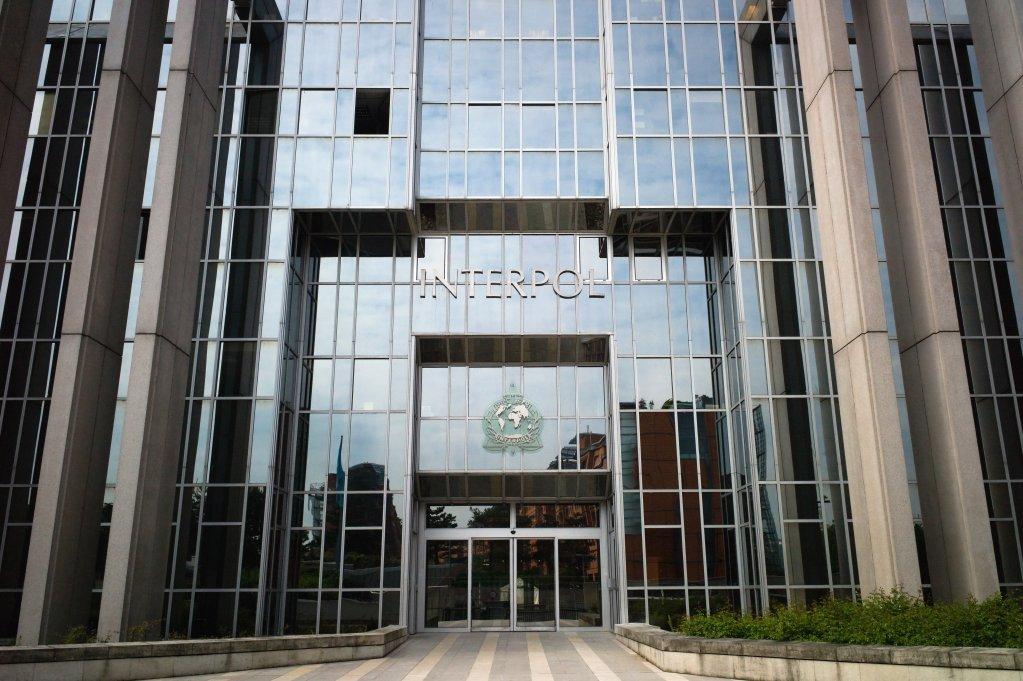 JEAN-PHILIPPE KSIAZEK / AFP |Le siège d'Interpol, à Lyon, dans le sud-est de la France.