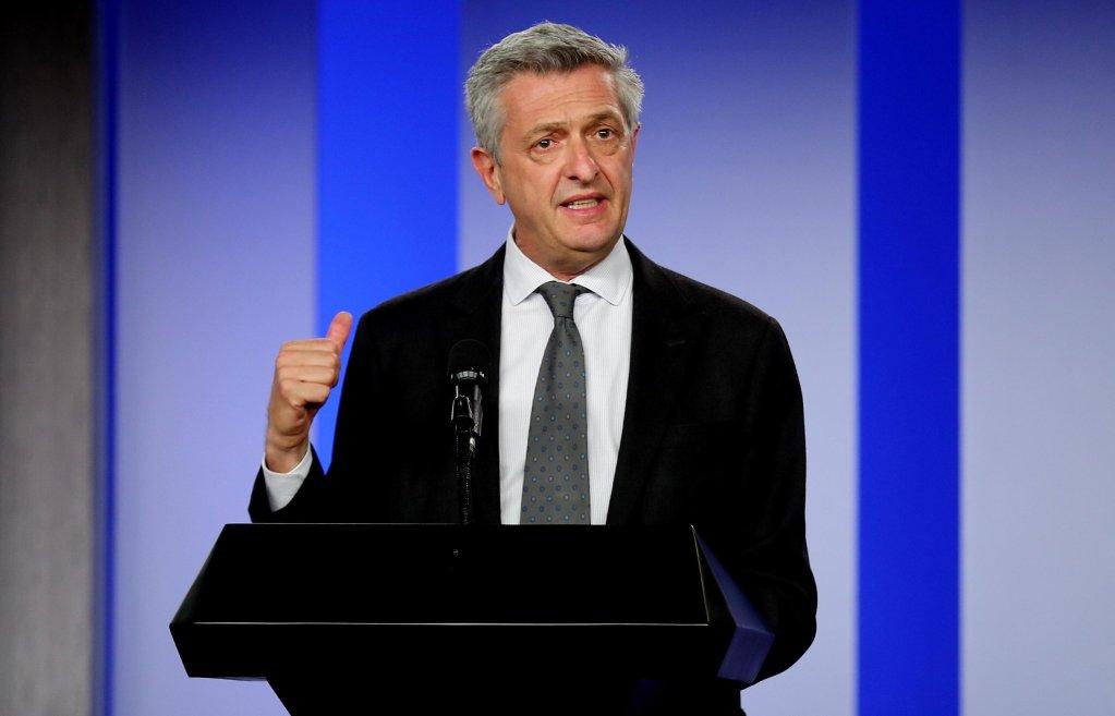 ANSA / فيليبو غراندي المفوض السامي للمفوضية العليا للاجئين. المصدر: إي بي أيه/ ليوناردو مونزو.
