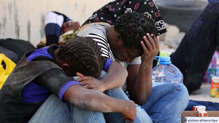 عکس از دویچه وله/ سازمان ملل گفته است که قاچاقبران انسان، گروهی از پناهجویان را در لیبیا کشته اند.