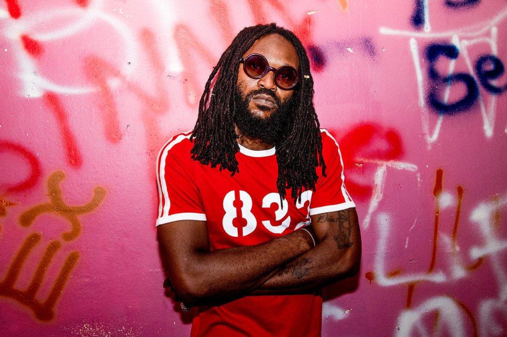 """""""Hip-hop ou reggae, je fais de la musique comme elle me vient"""", affirme Obi. Crédit : Frank Loriou / Agence VU"""