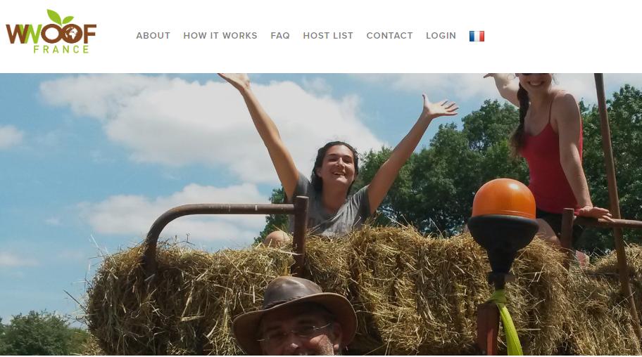 """صفحه وبسایت """"ووف"""" در فرانسه. عکس از: نماگرفت صفحه ووف."""