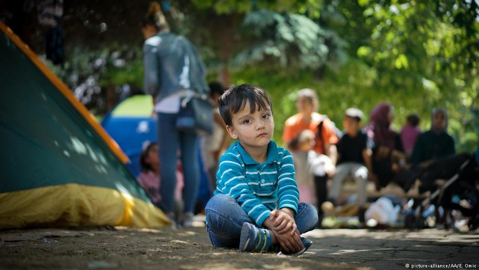 Migrants of all ages are stuck in Bosnia hoping to reach the European Union